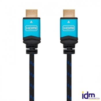 Cable HDMI V2.0 4K@60Hz M/M<br> 2m