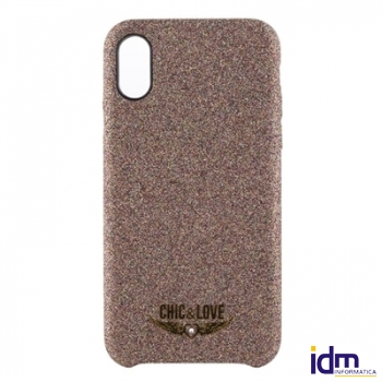 Chic&Love Carcasa iPhone X-XS Cobre Resplandecient