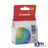 CARTUCHO TINTA CANON CL 41 TRICOLOR 12ML PIXMA 1600/ 2200/ 2600/ 6210/ 6220/ MP150/ 170/ 190/ 450