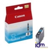 CARTUCHO TINTA CANON CLI 8C CIAN PIXMA 8ML 4200/ 5200/ 6600/ MP500/ 800
