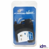 iggual Cartucho Reciclado Brother LC1100BK Negro