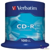 Verbatim CD-R 700MB 52x Tarrina 100Uds