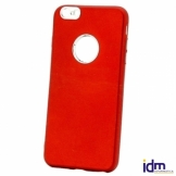 X-One Funda TPU Aluminio iPhone 6 Plus Rojo