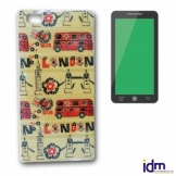 X-One Funda TPU Dibujo 3D Brillo Samsung S6 Edge P